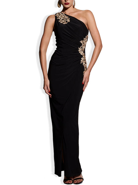 Donatella Applique Gown