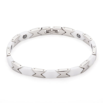 Phoenix Hauora Bracelet With Silver/White Finish