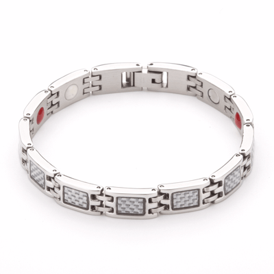 Hauora Bracelet With Grey Panels