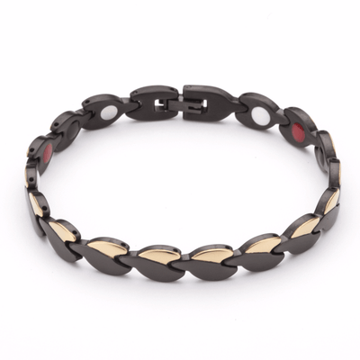 Bora Bora Hauora Bracelet In Black And Gold