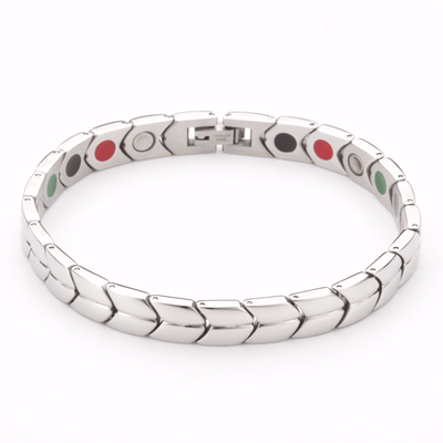 Arrow Hauora Bracelet In Silver