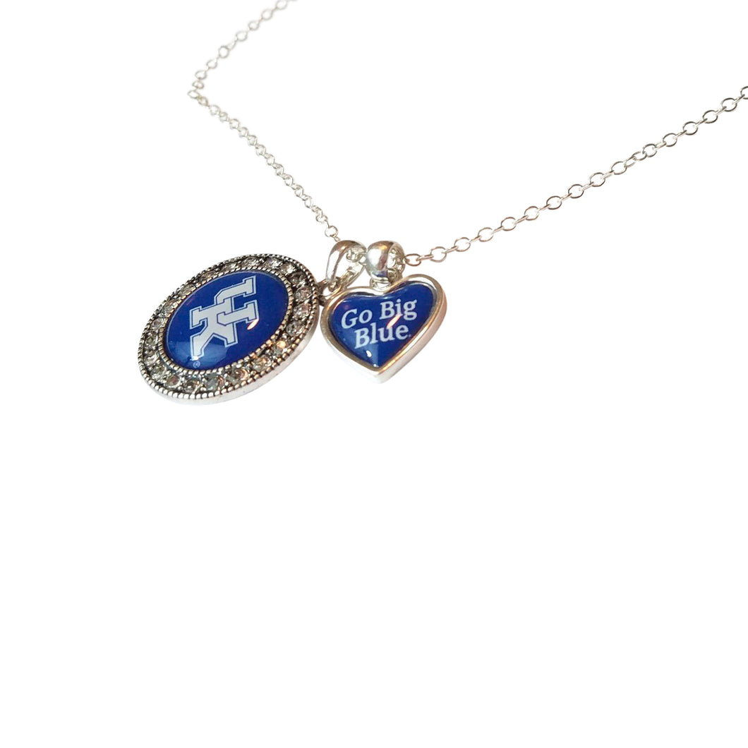 UK Heart Charm Pendant Necklace