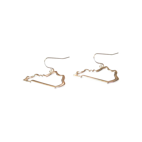 Kentucky Outline Earrings