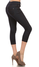 Capri Jeggings - Navy