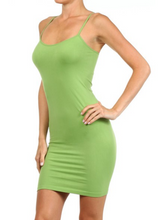 Long Cami - Apple Green