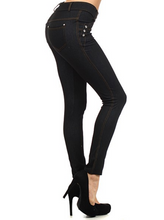 Black Fashion Jeggings