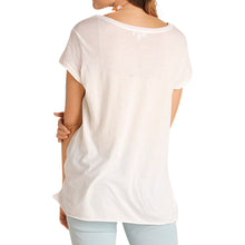 Side Knot T Shirt Top - Rose