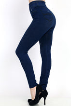 Miracle Jeggings - Dark Blue Distressed