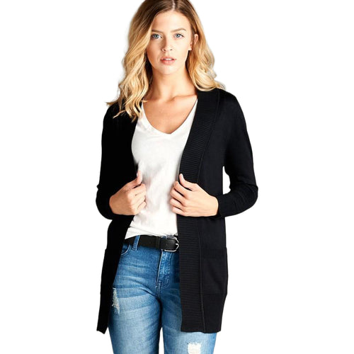 Pocket Cardigan Sweater