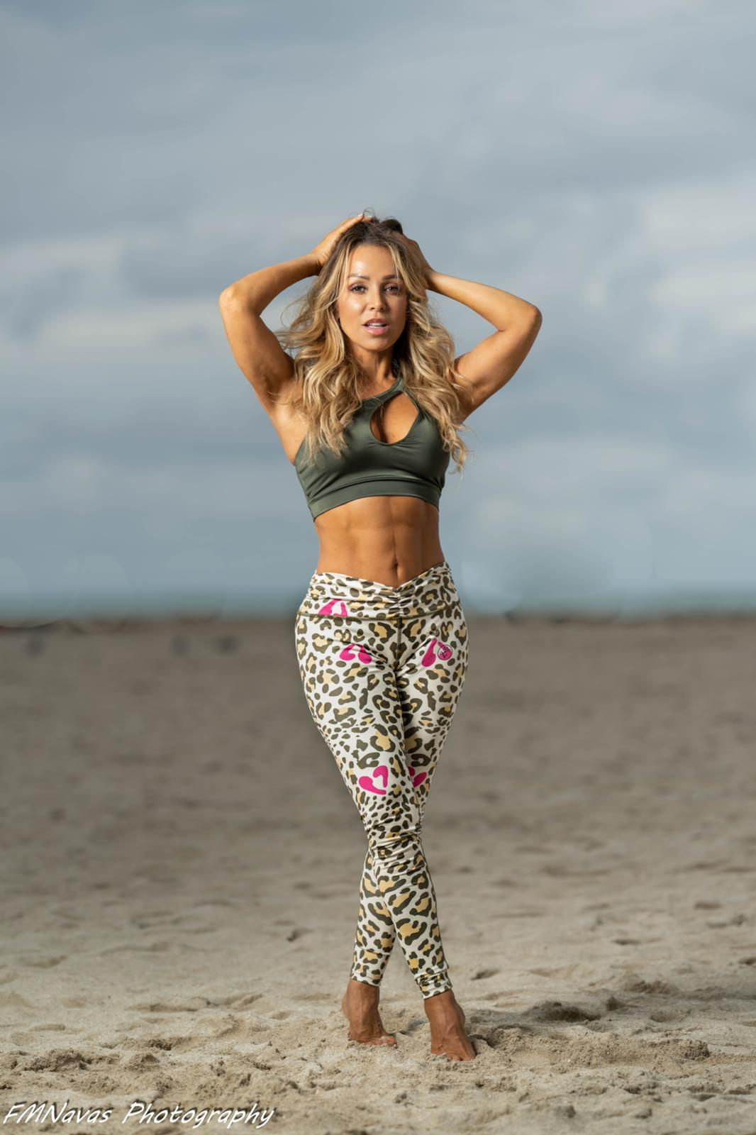 Candy Leopard Leggings