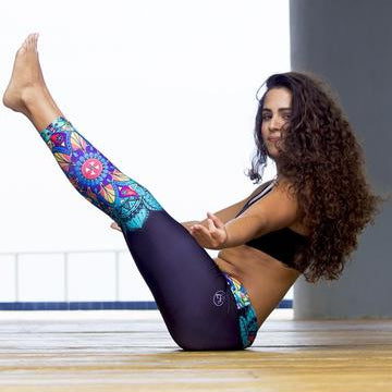Black Mandalas Leggings