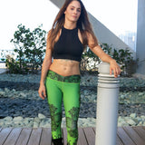 Emerald Lotus Leggings