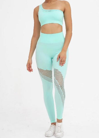 Mint Goddess Seamless Set