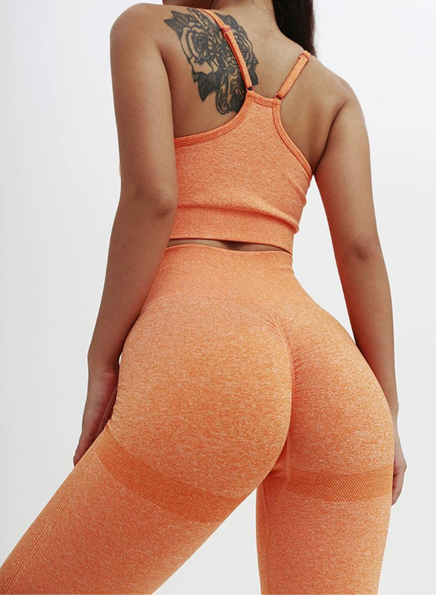 Happy Orange Seamless Set