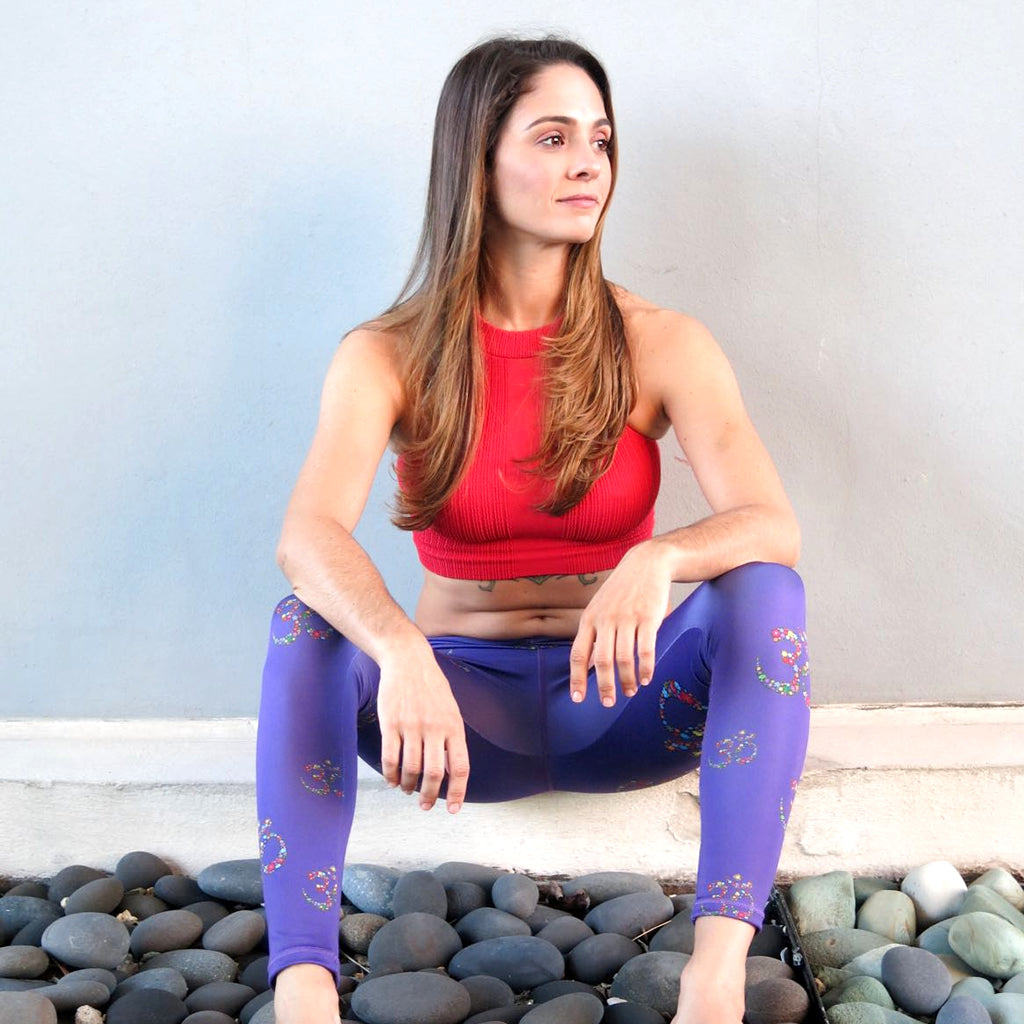 Purple OM Leggings
