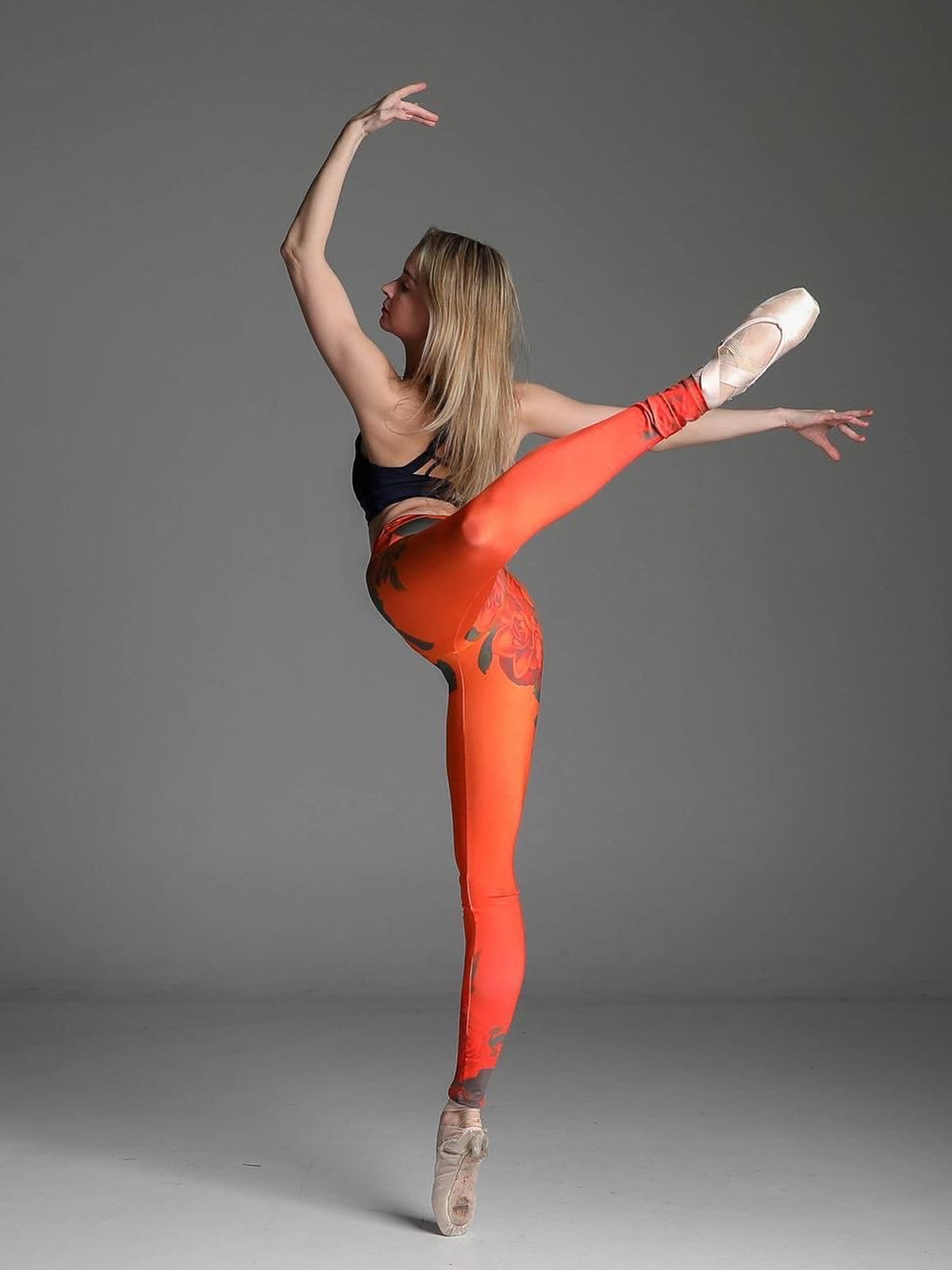 Summer Tangerine Leggings