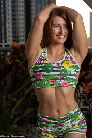 Tropical Passion Sport Bra