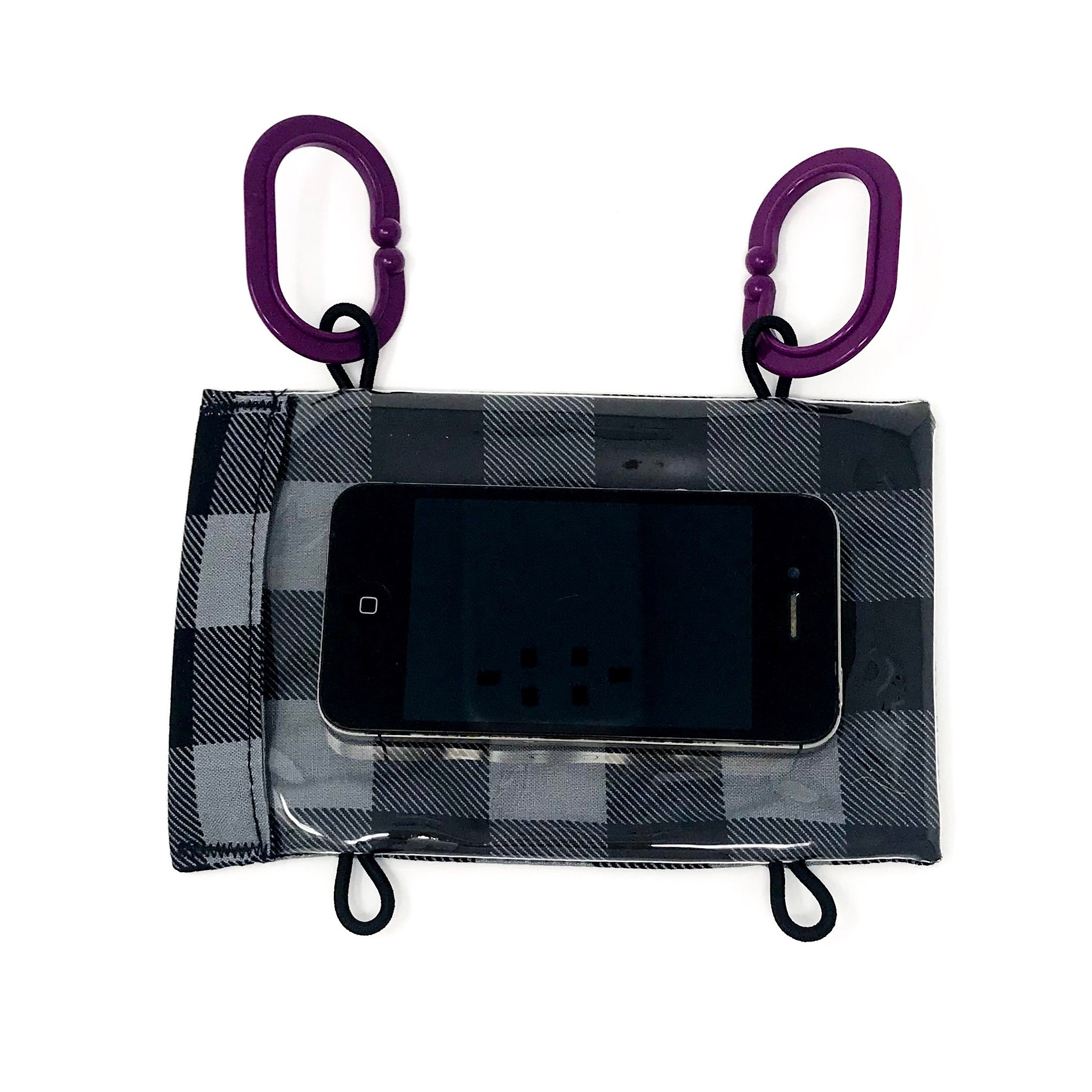 Grey Buffalo Check Smartphone Case