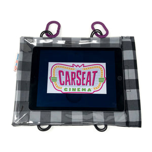 Grey Buffalo Check Tablet Case