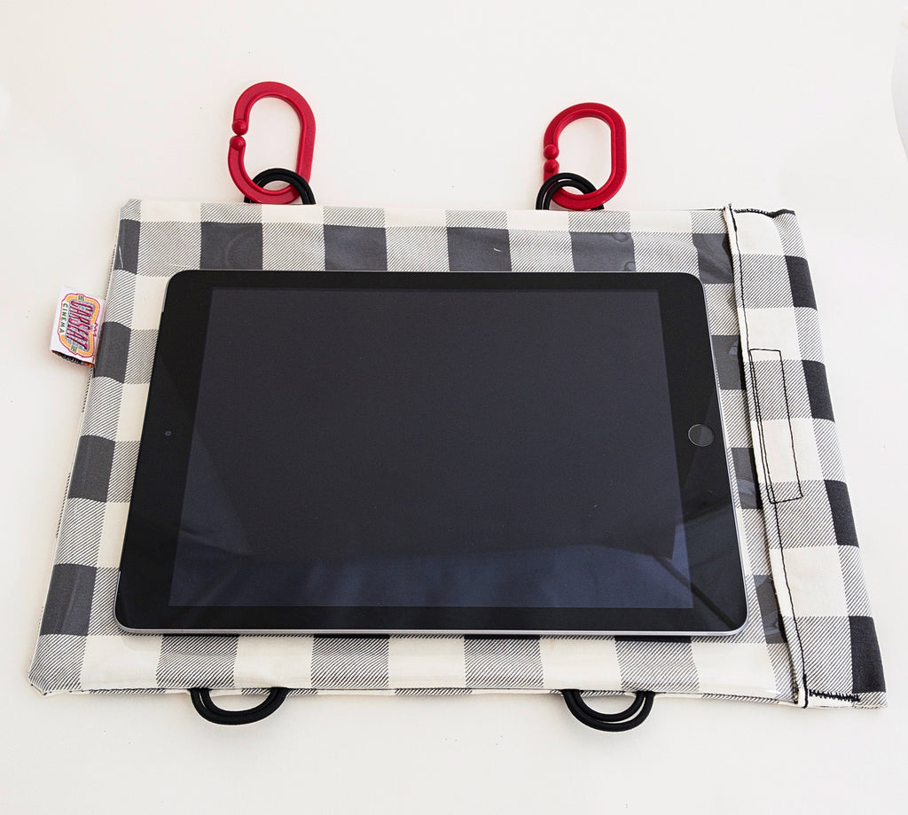 Lumberjack White Tablet Case