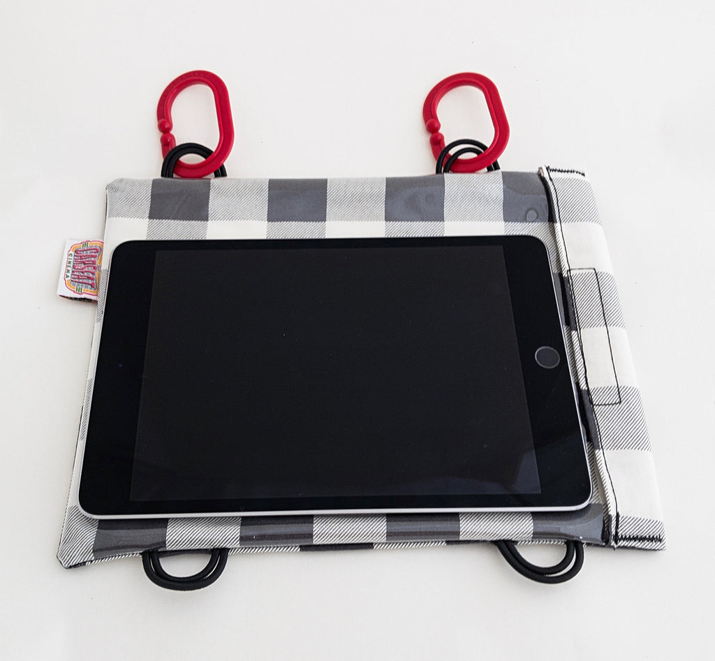 Lumberjack White Mini Tablet Case