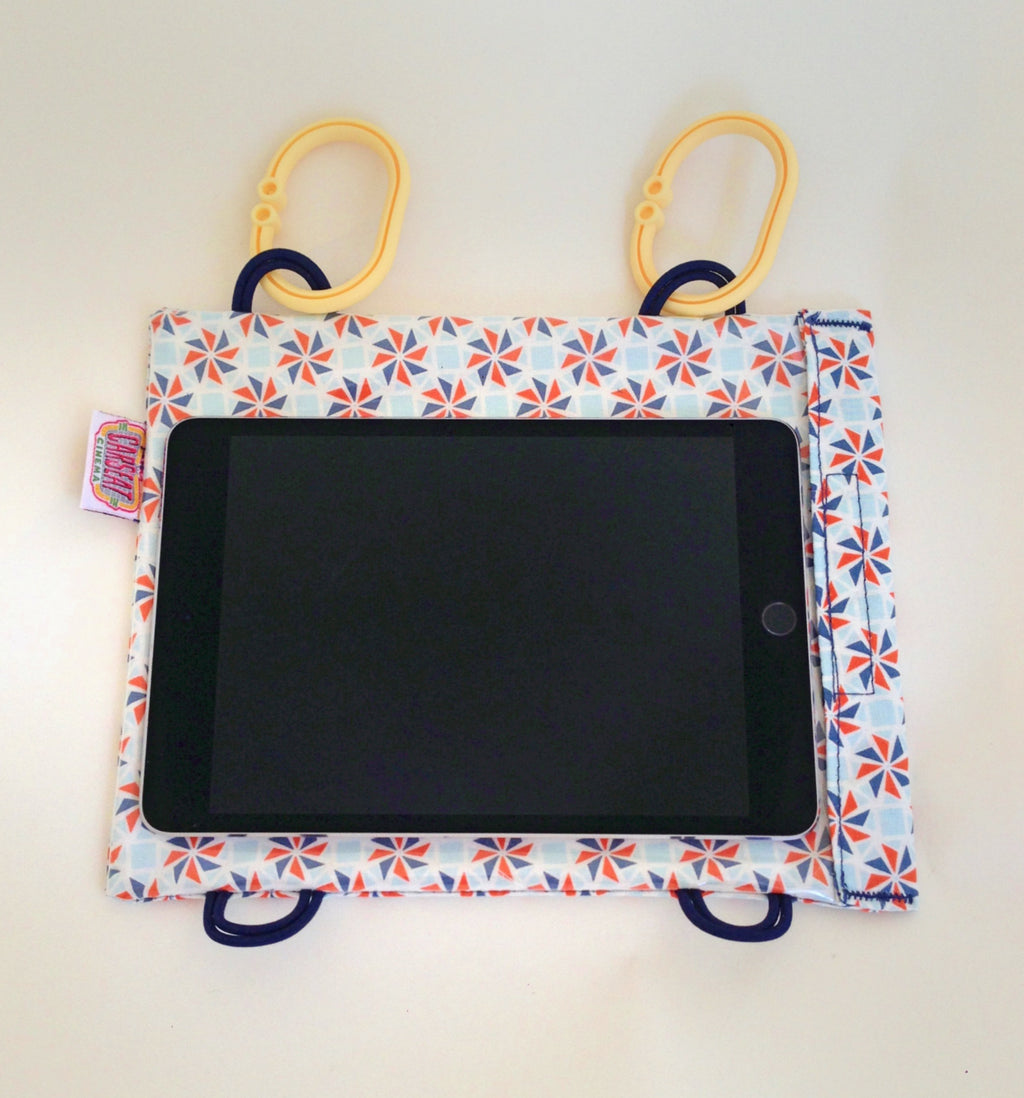 ORANGE PINWHEEL PARTY Mini Tablet Case
