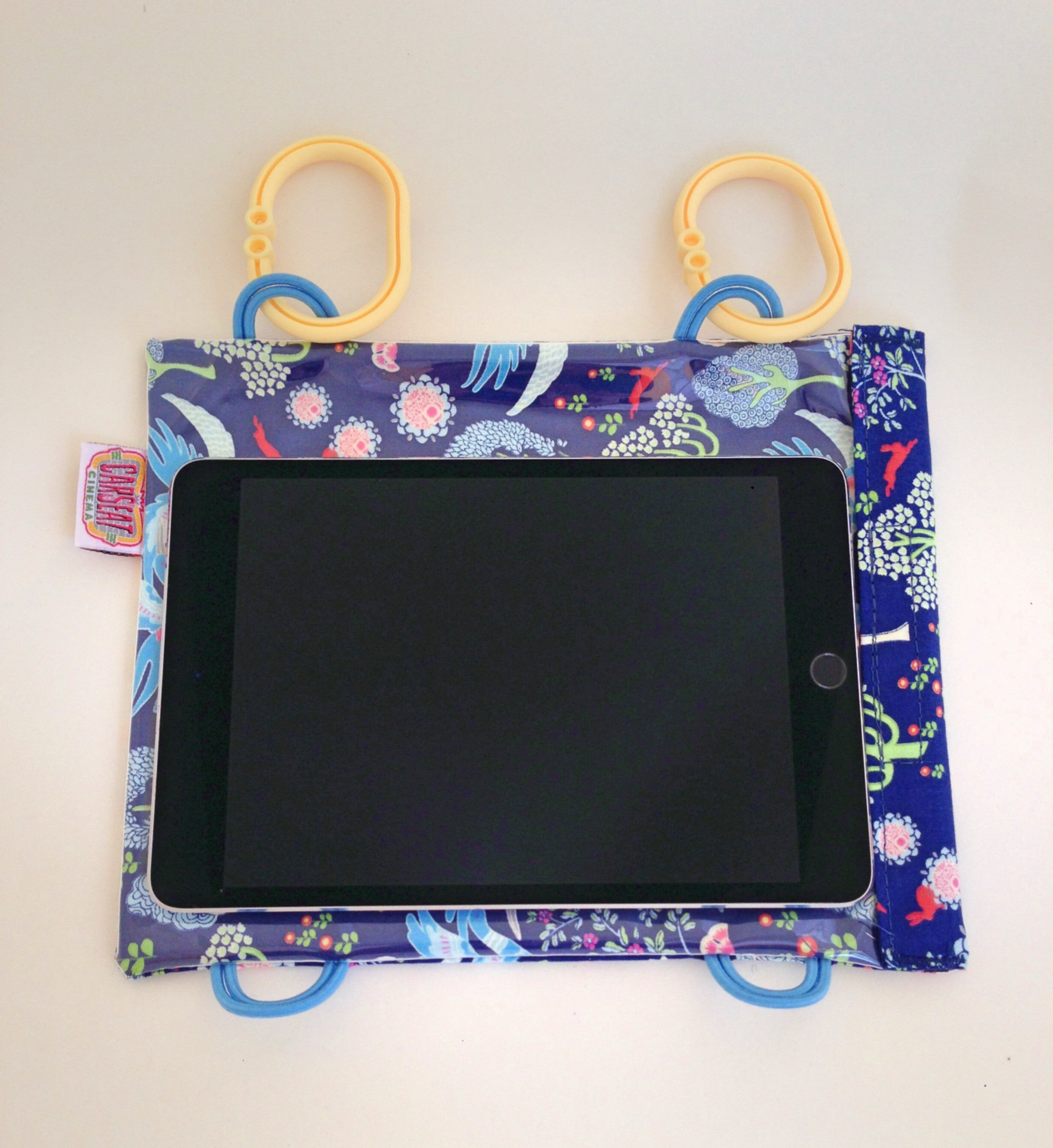 BLUE WOODLAND WINGS Mini Tablet Case