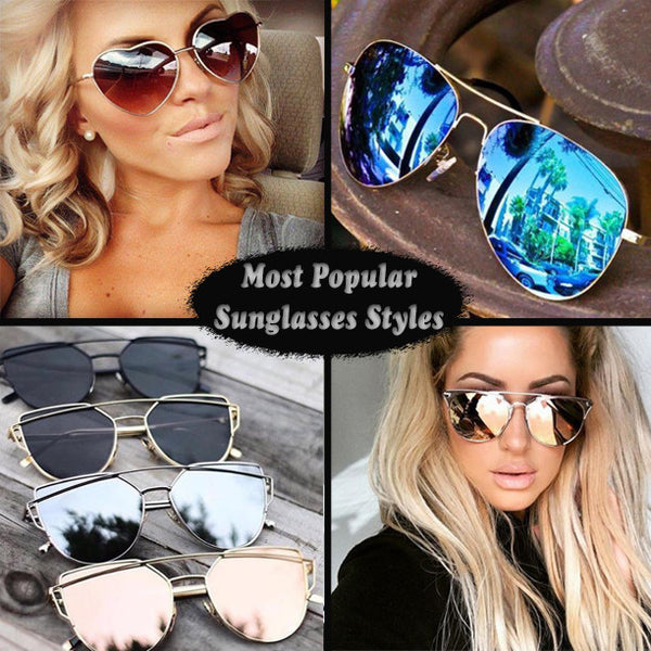 Most Popular Sunglasses Styles for Women