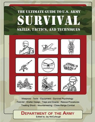 U.S. Army Survival Skills, Tactics & Techniques