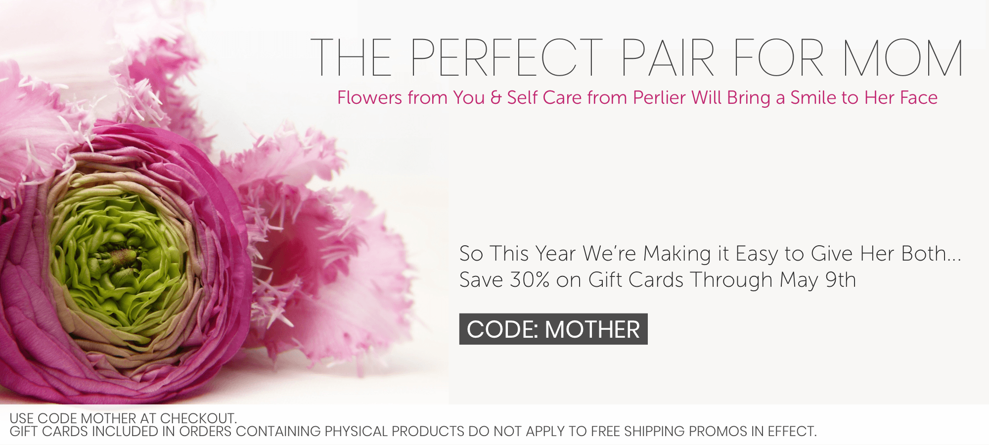 Save 30% on Perlier Gift Cards