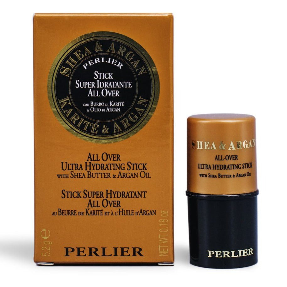 PERLIER'S SHEA + ARGAN ALL-OVER MOISTURIZING STICK