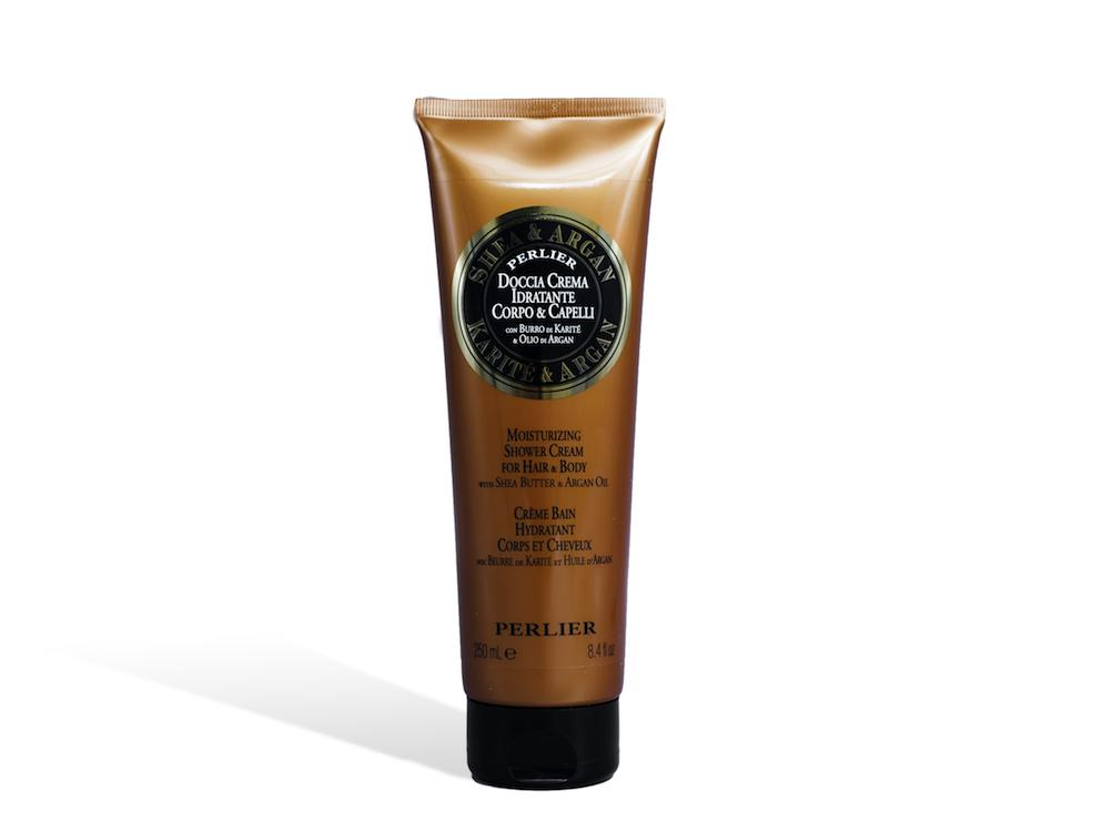 Shea Butter & Argan Oil Shower Cream for Hair & Body