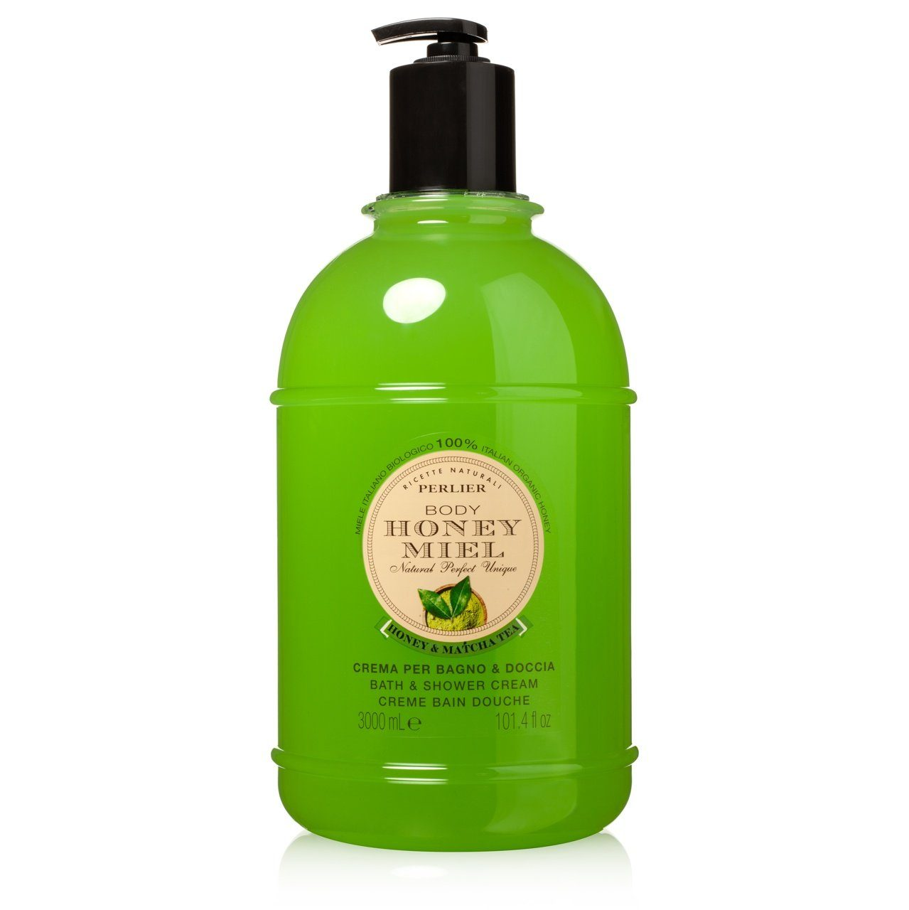 Honey & Matcha Tea Shower Gel