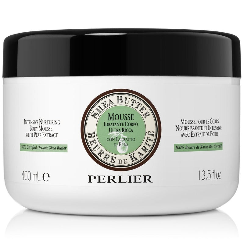 Organic Shea Butter Body Mousse with Pear