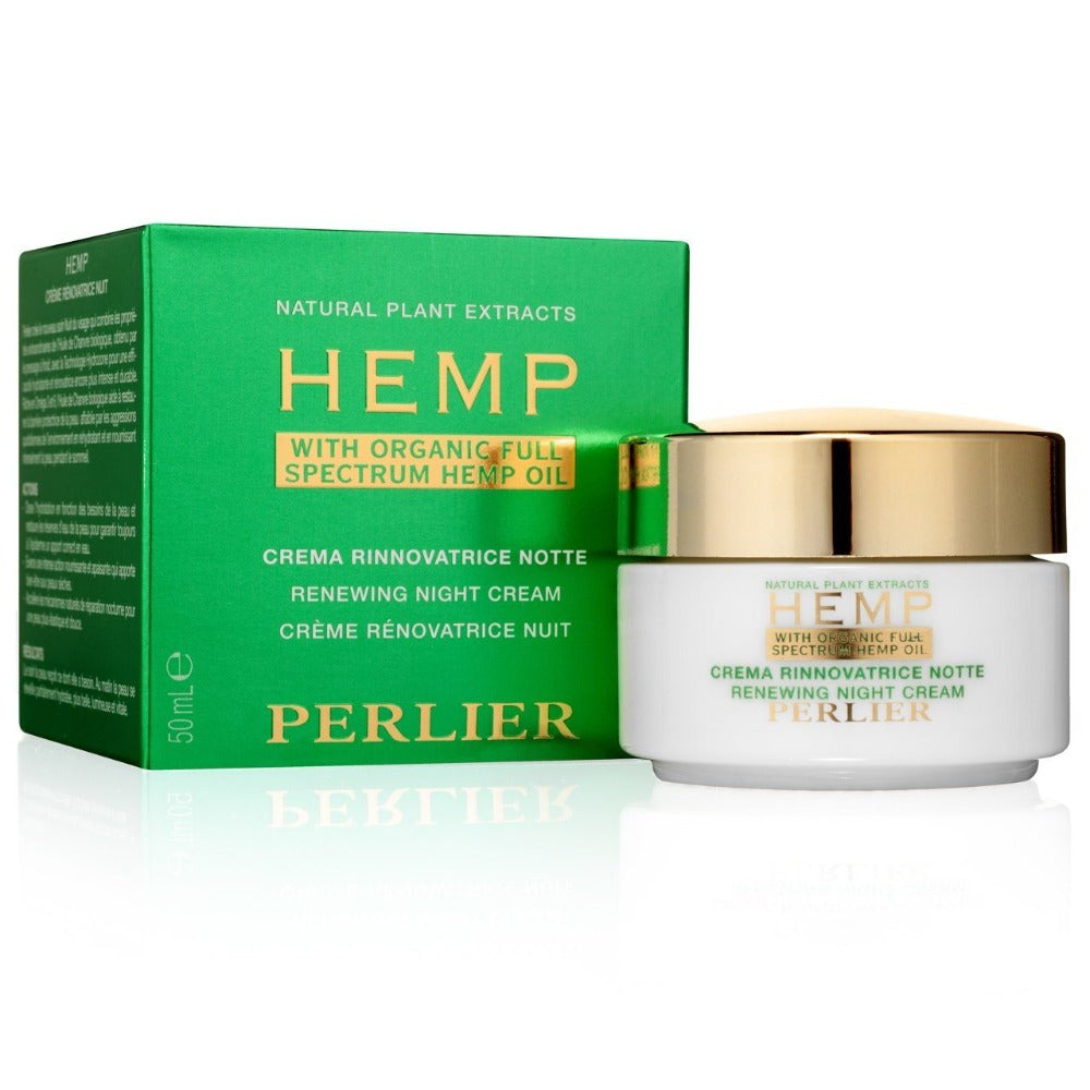 Hemp Renewing Night Cream with Organic Full Spectrum Hemp Oil