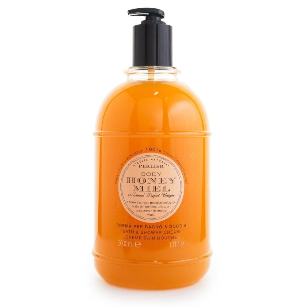 PERLIER'S HONEY MIEL BATH & SHOWER CREAM - JUMBO SIZE