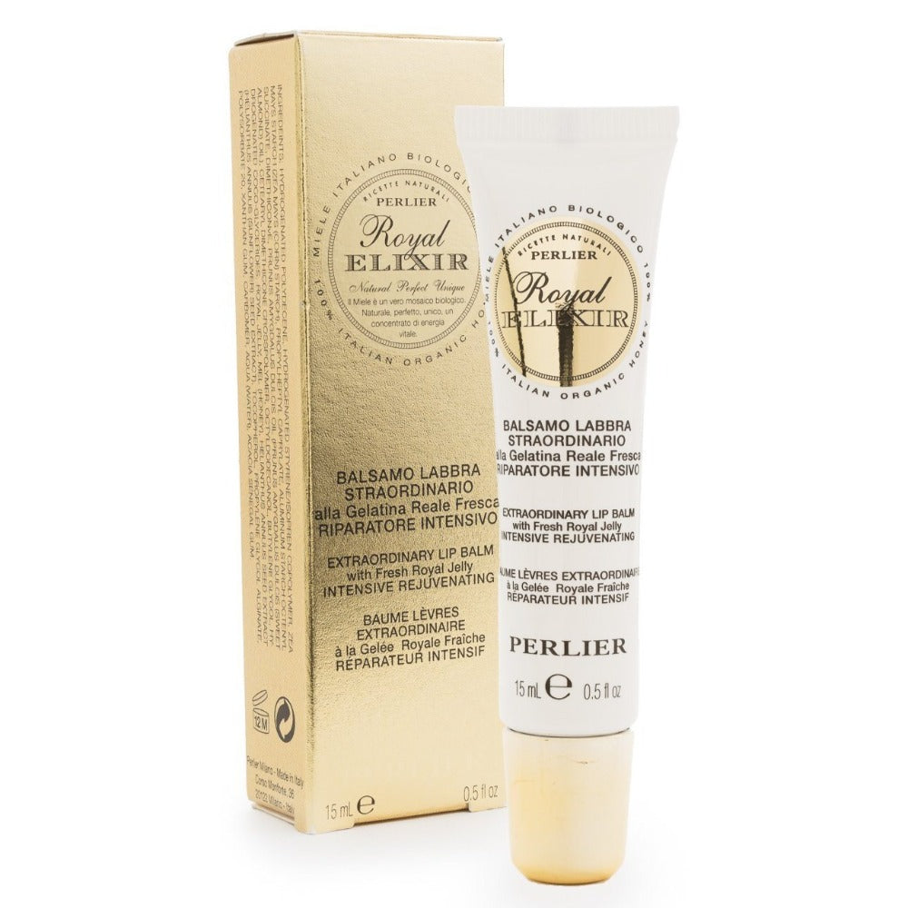 PERLIER'S ROYAL ELIXIR LIP BALM WITH ROYAL JELLY