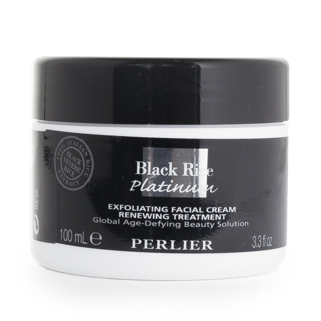 Black Rice Platinum Exfoliating Facial Cream Renewing Treatment 3.3 fl oz