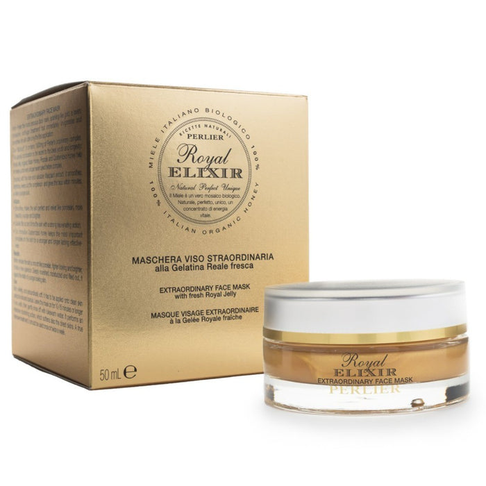 Perlier Royal Elixir Extraordinary Face Mask | Age-defying skincare treatment for immediate results