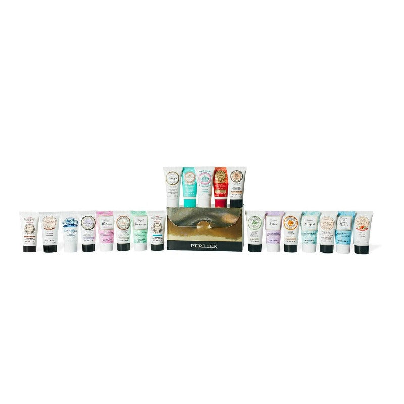 PERLIER'S 20 PIECE HAND CREAM SET