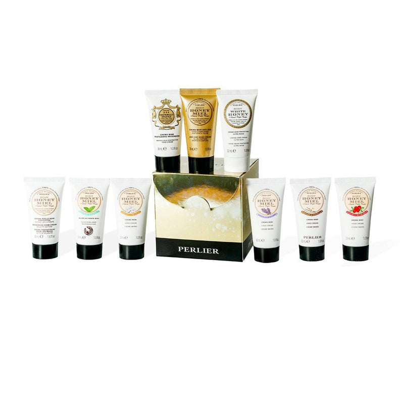 9 Piece Honey Mini Hand Cream Set - NEW