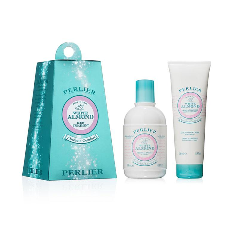 White Almond Shower Gel and Body Soap Giftable Set (2pc Set)