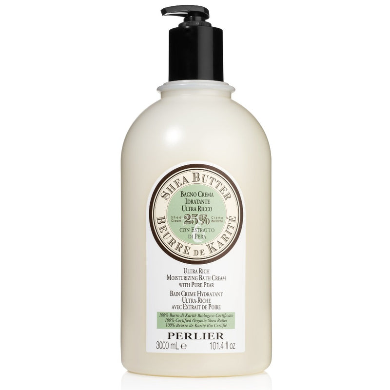 Perlier Shea Butter with Pure Pear Bath & Shower Cream