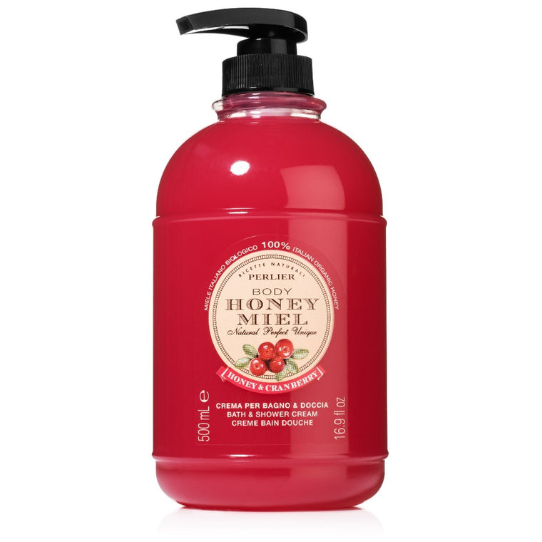 Honey & Cranberry Bath & Shower Cream