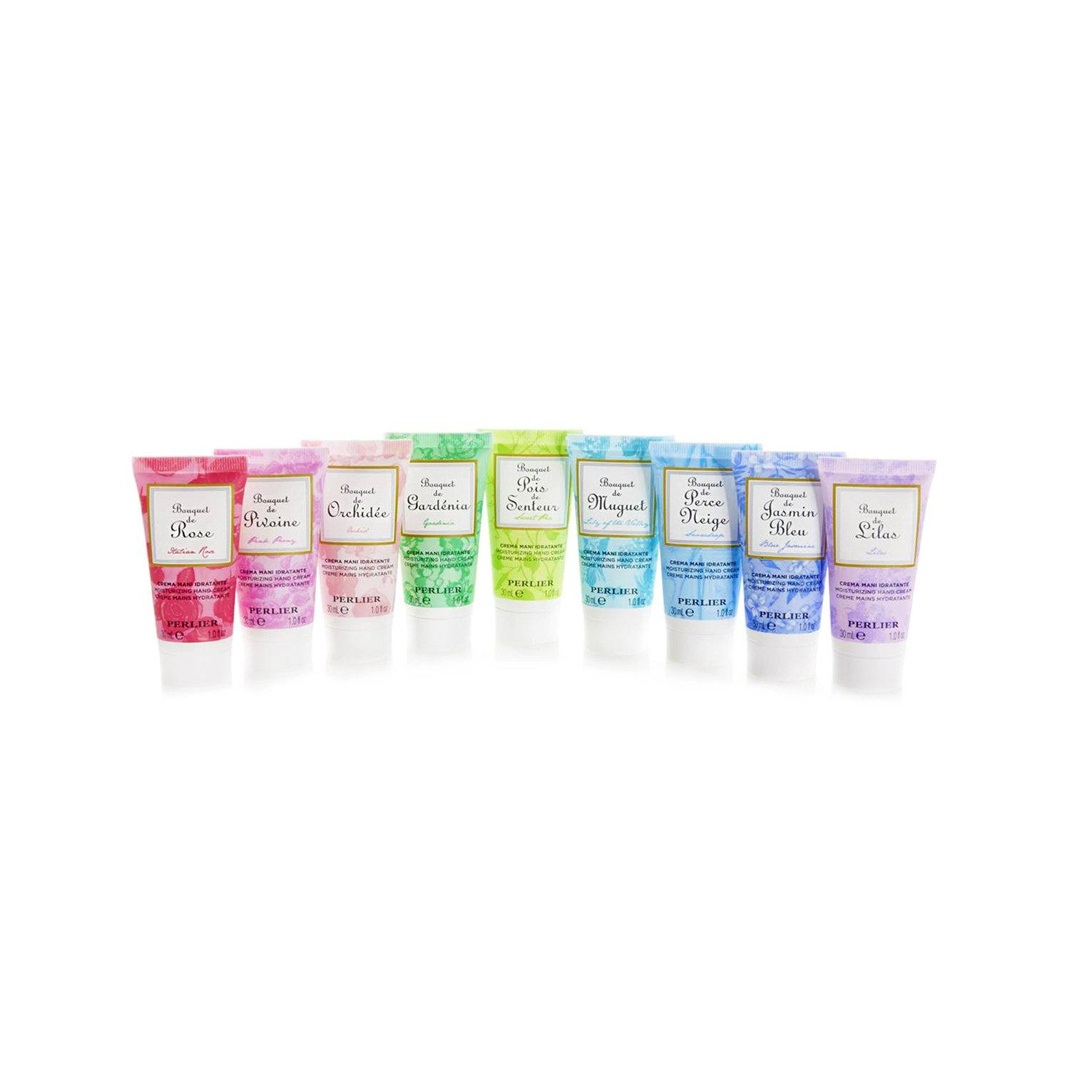 9-Piece Floral Mini Hand Creams