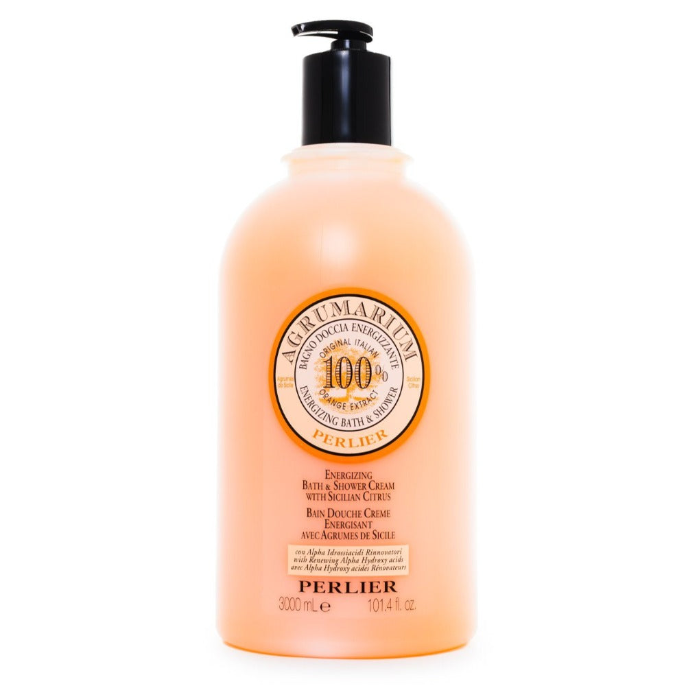 Agrumarium 100% Sicilian Citrus  Bath & Shower Cream 101.4 fl oz