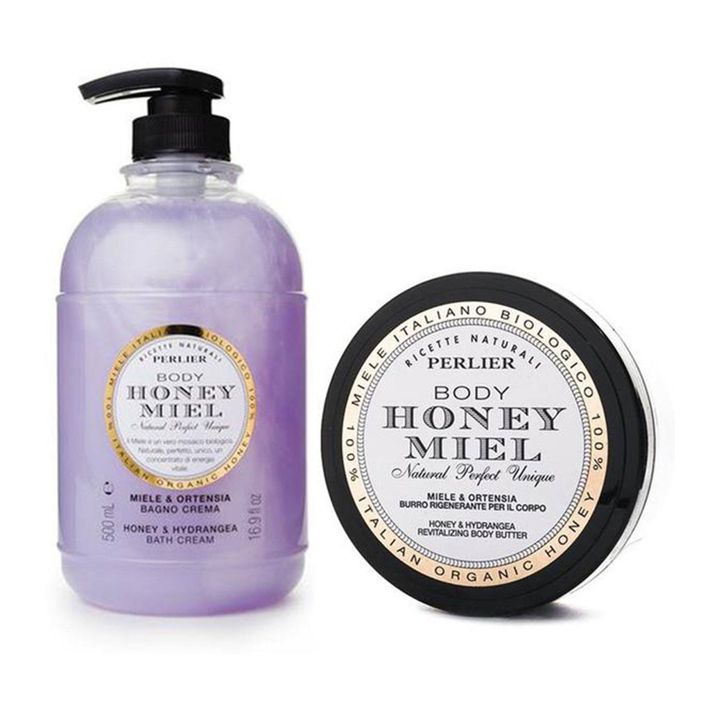 Honey & Hydrangea Bath Cream & Body Butter (2pc Kit)