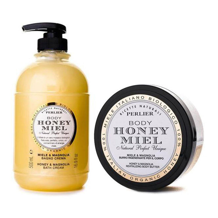 Honey & Magnolia Bath Cream & Body Butter (2pc Kit)