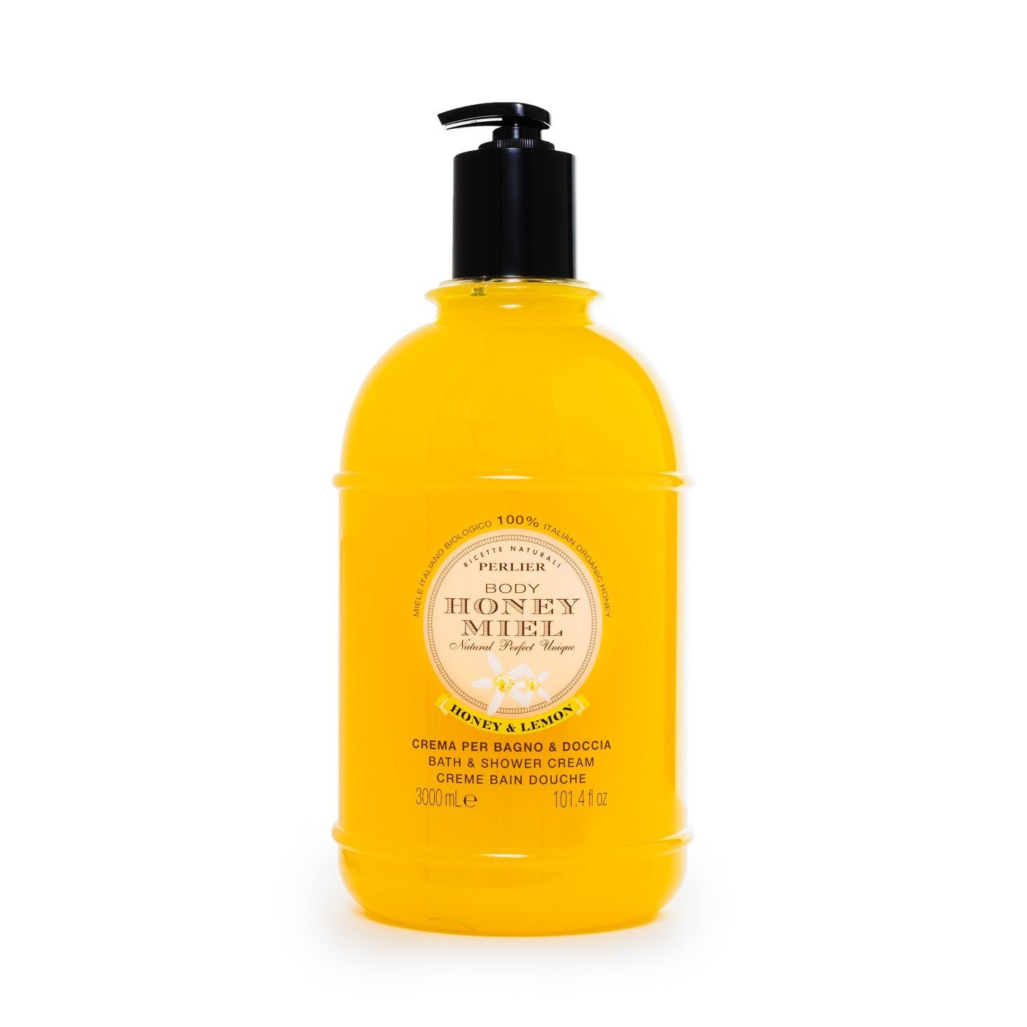 Honey & Lemon Bath & Shower Cream 101.4 fl oz