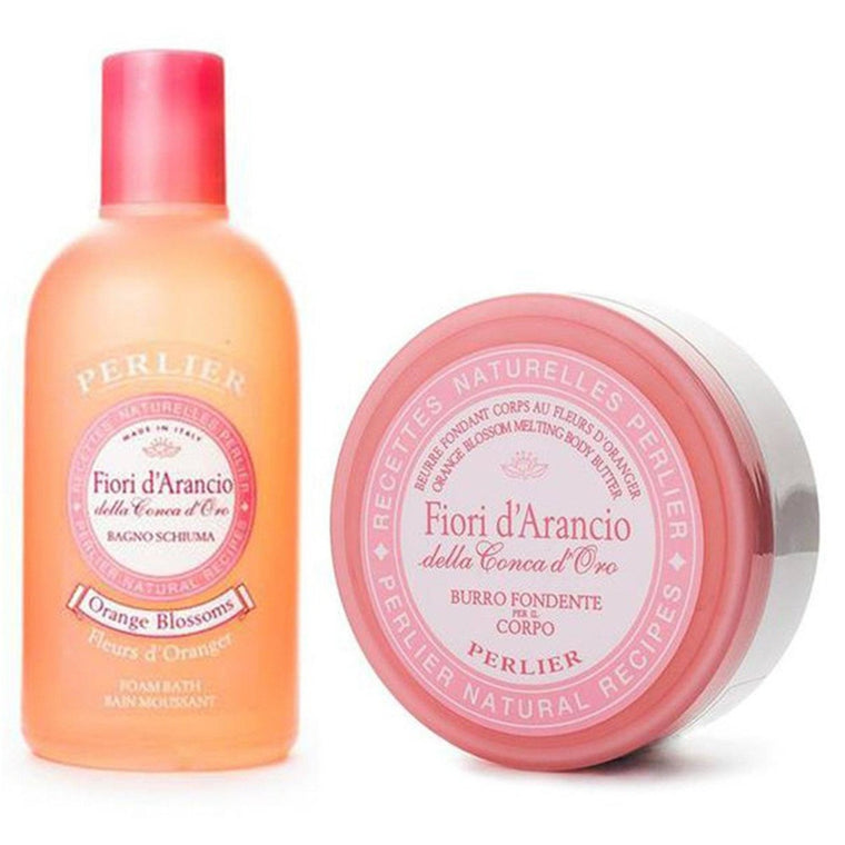 Orange Blossom Bath Cream & Body Butter (2pc Kit)
